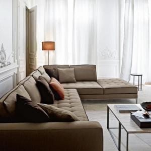 Le canapé beige - meuble classique pour le salon