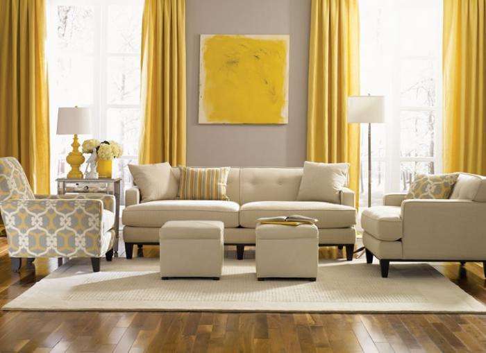 Le canapé beige - meuble classique pour le salon - Archzine.fr
