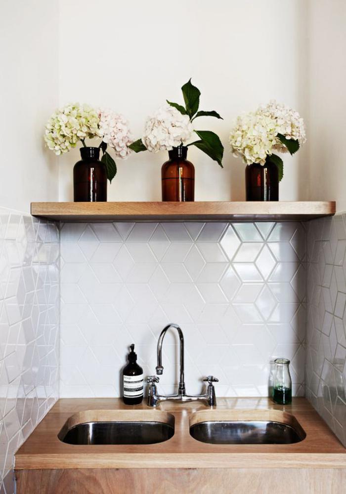 carrelage-blanc-brillant-carrelage-mural-de-cuisine