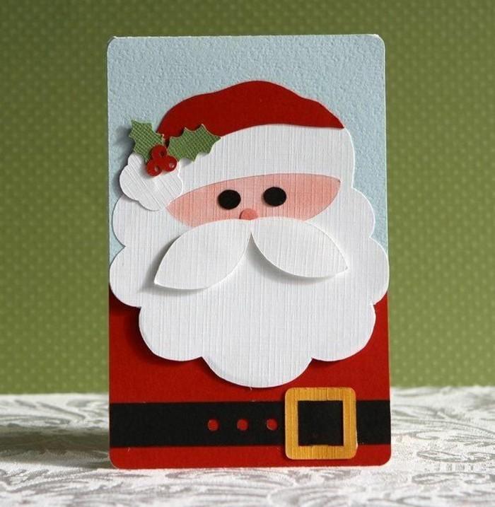 carte-joyeux-noel-jolies-cartes-pour-Noël-carte-de-noel-a-fabriquer-pere-noel