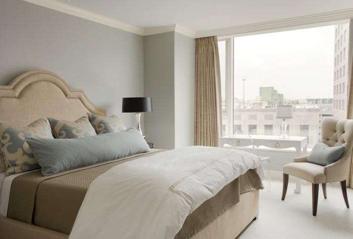 chambre-couleur-taupe-chambre-grise-intérieur-amenagement-jolie