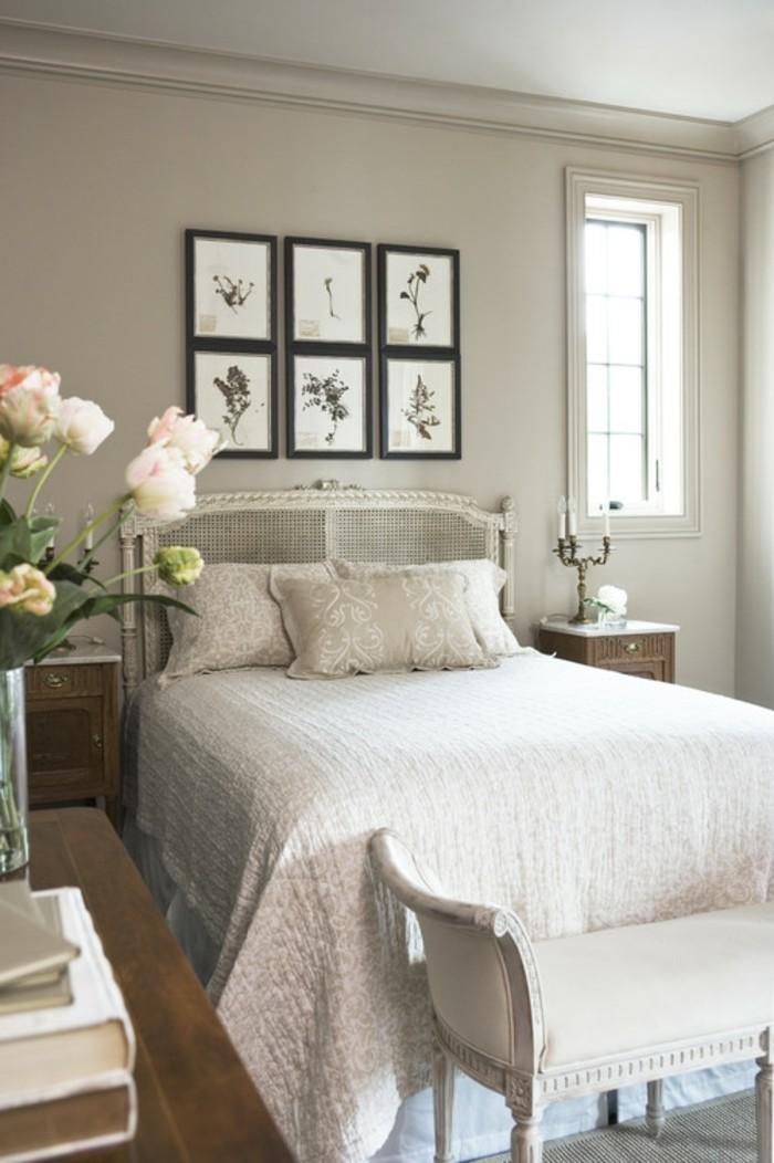 chambre-couleur-taupe-chambre-grise-intérieur-chambre-à-coucher-bien-amenagee