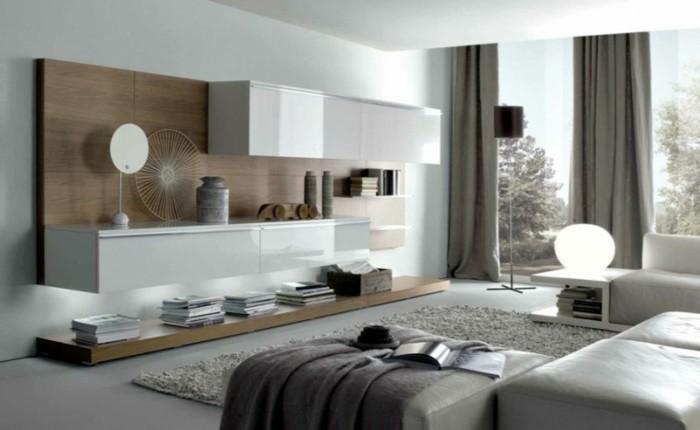 chambre-couleur-taupe-chambre-grise-intérieur-design-moderne