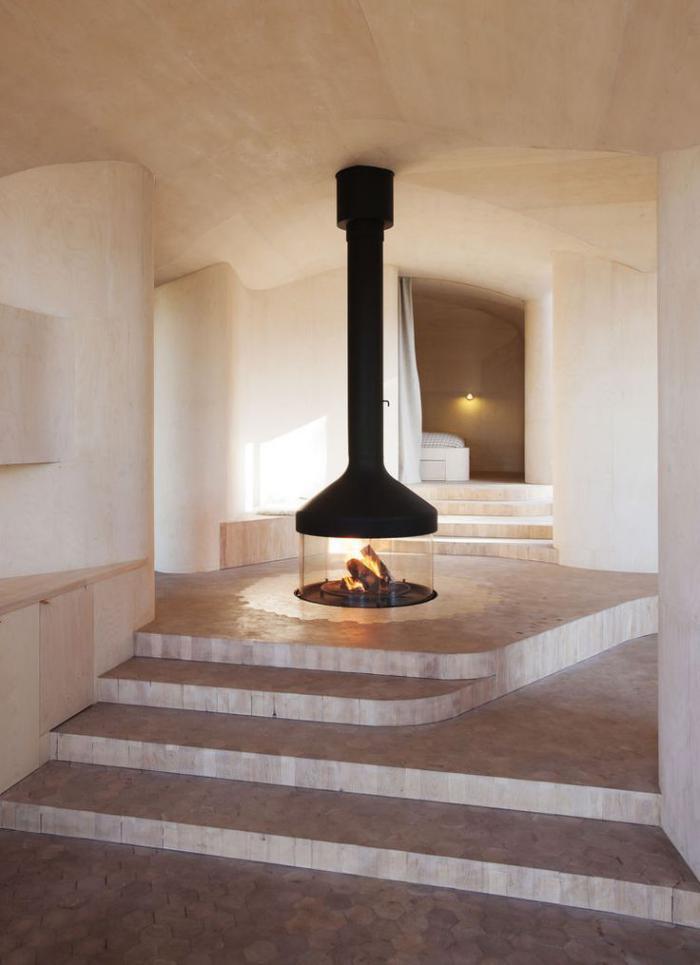 cheminée-focus-design-cheminée-centrale-fermée