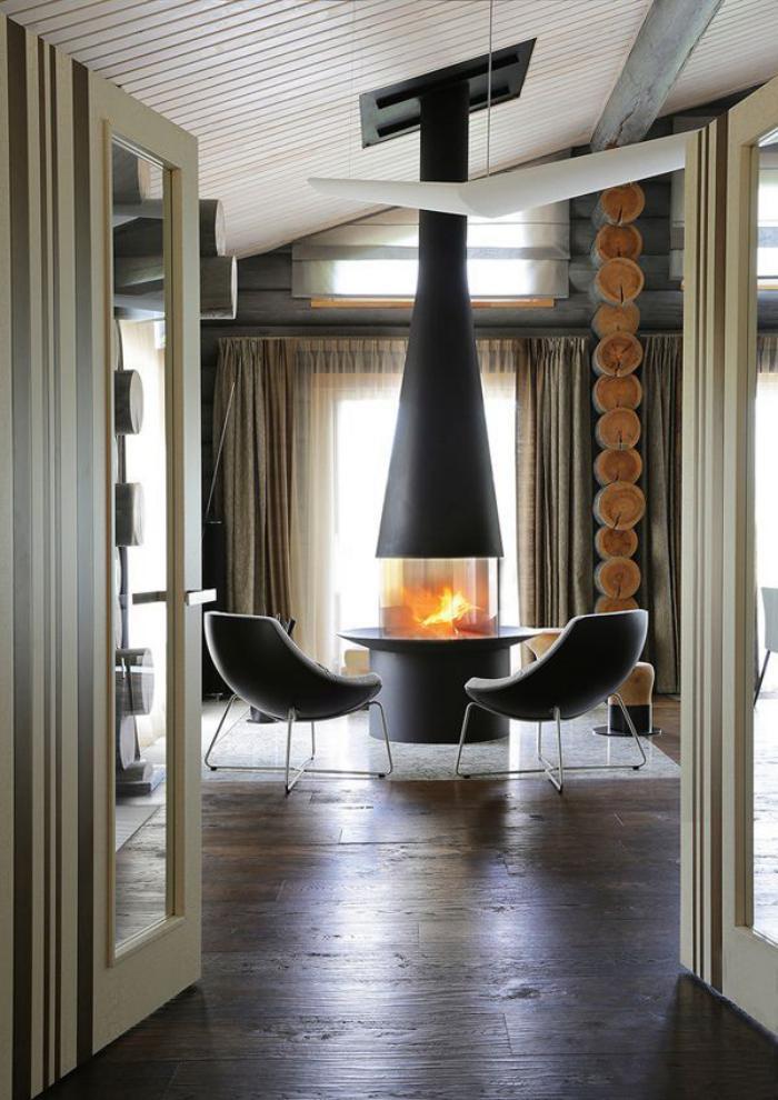 la chemin e focus le chauffage qui fait diff rence. Black Bedroom Furniture Sets. Home Design Ideas