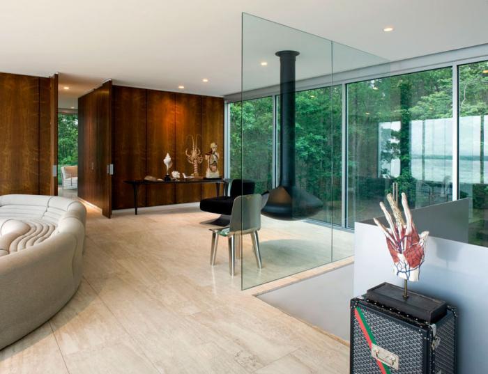 cheminée-focus-grandes-fenêtres-panoramiques