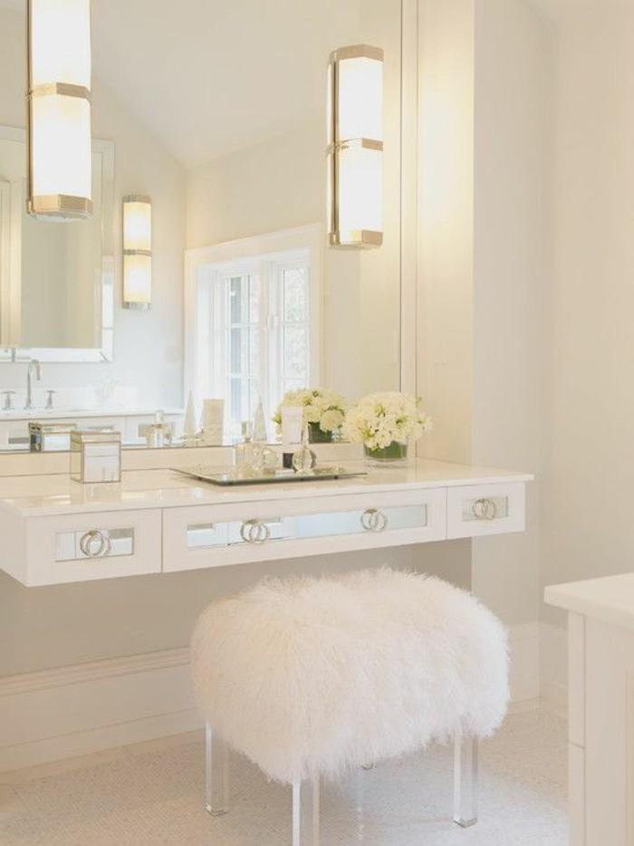 Mille et une id es pour choisir le meilleur miroir lumineux - Comment fixer un miroir de salle de bain ...