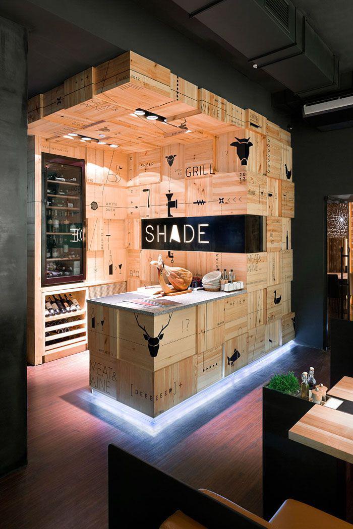 Le comptoir en bois recycl est une jolie tendance adopter for Comptoir du meuble angouleme