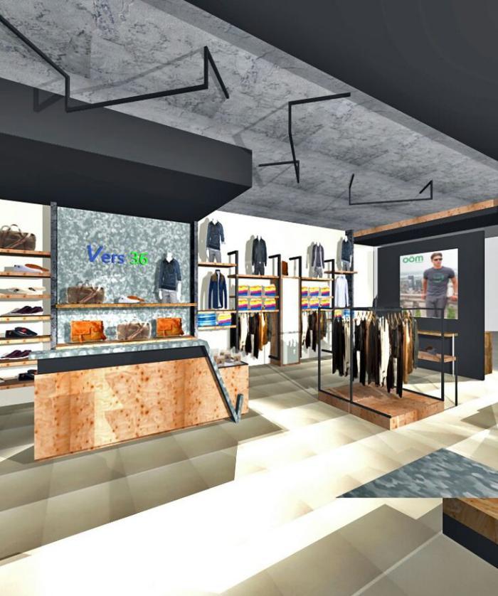 comptoir-en-bois-recyclé-un-magasin-design-original-bois-réutisé