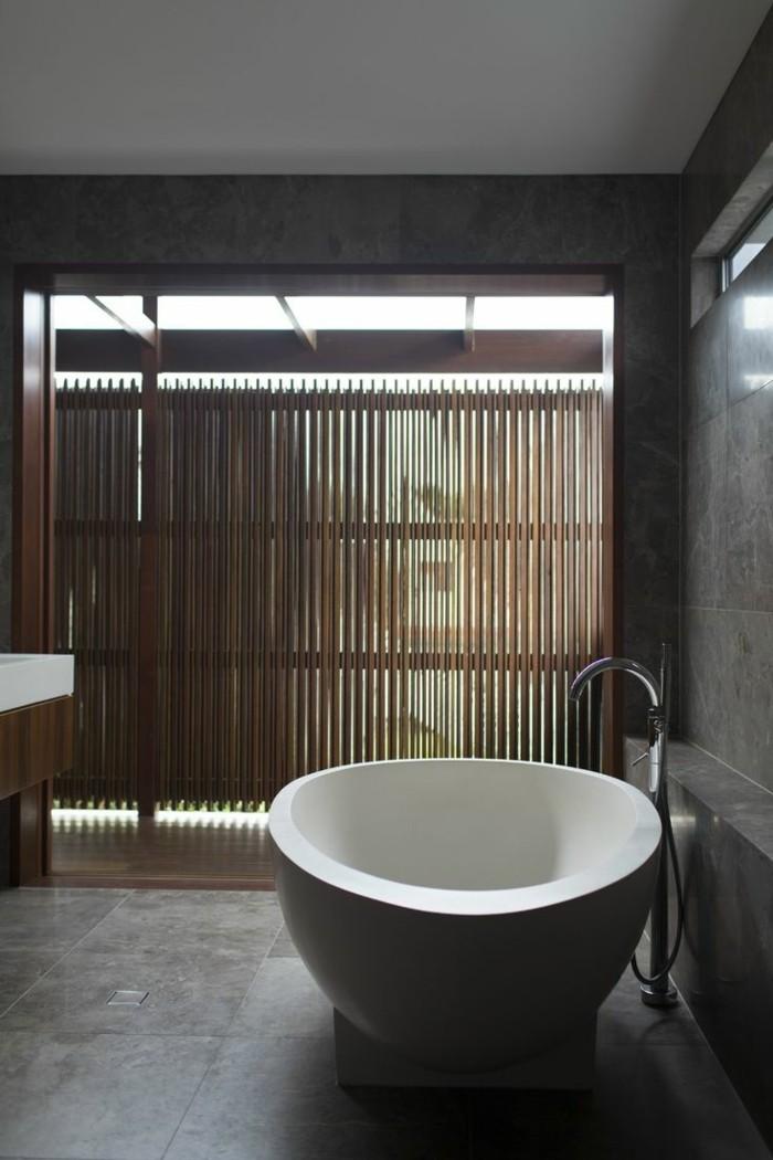 cool-baignoir-ilot-baignoire-moderne-baignore-ambiance-zen