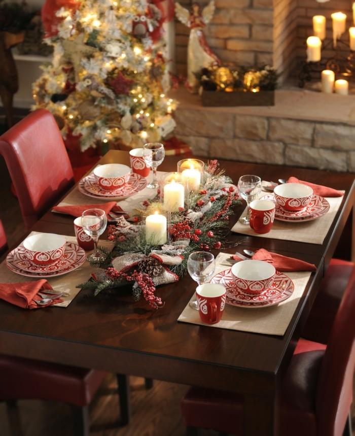 cool-déco-mignon-decoration-de-table-de-noel-décoration-de-table-noel