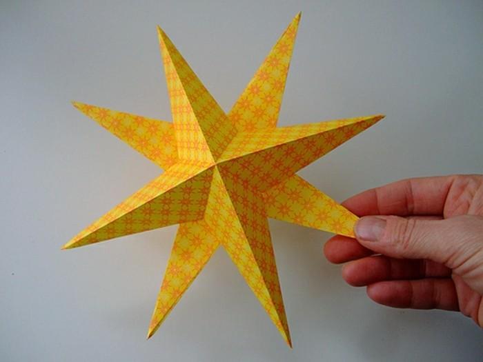 cool-etoile-de-noel-activité-manuelle-noel-jaune