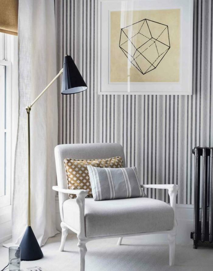 cool-idee-choisir-papiers-peints-vintage-décoration-cosy-retro-en-blanc-et-noir