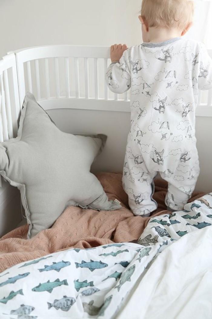 cool-pyjama-bébé-pas-cher-ensemble-bébé-fille-blanc-et-fox