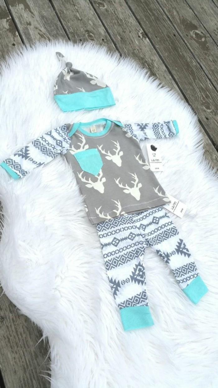 cosy-pyjama-bebe-pyjama-naissance-pyjama-bébé-garçon-belle
