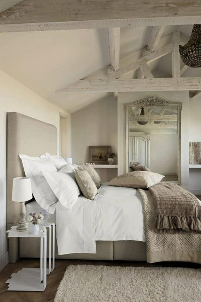 couleur-de-chambre-taupe-rustique-intérieur-couleur-taupe-chambre-idée