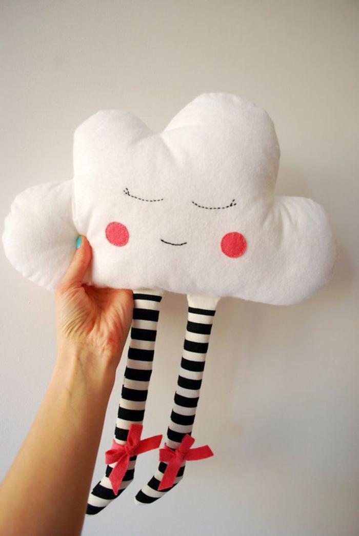 coussin-personnalisé-doux-nuage-blanc