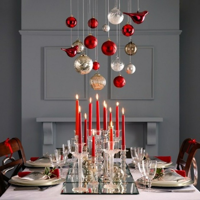Decoration De Noel Pour Grande Table