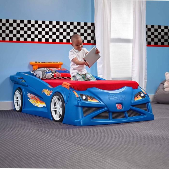 déco-lit-voiture-lit-enfant-voiture-lit-voiture-bleu-lit-voiture-enfant-bleu-hot-wheel