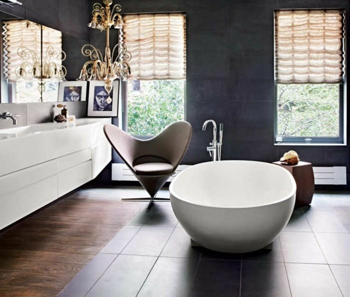 La baignoire ovale les meilleurs id es pour votre salle de bains - Baignoire moderne luxueuse ...