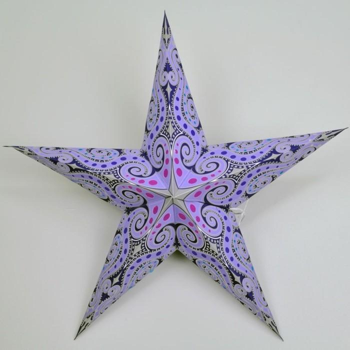 décoration-etoile-de-noel-a-colorier-idee-deco-noel-le-violet