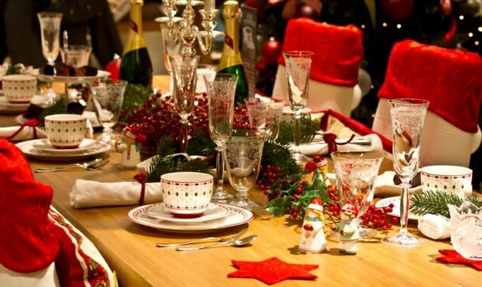 décoration-sapin-de-noel-déco-table-noel-creation-deco-noel-champagne