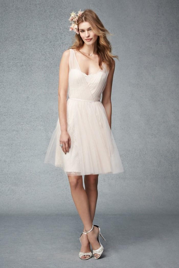 debonair-blush-short-tulle-along-with-lace-bridesmaid-dress-2015_blush-bridesmaid-dresses-long-blush-bridesmaid-dresses-short-resized