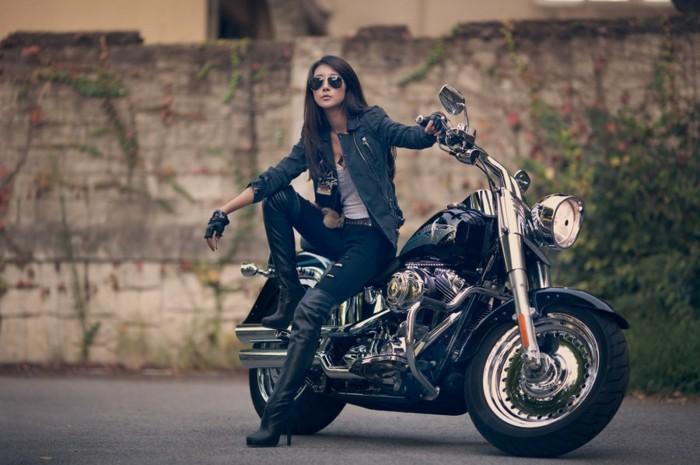 design-gant-de-moto-femme-gants-scooter-originaux-cuir-noir
