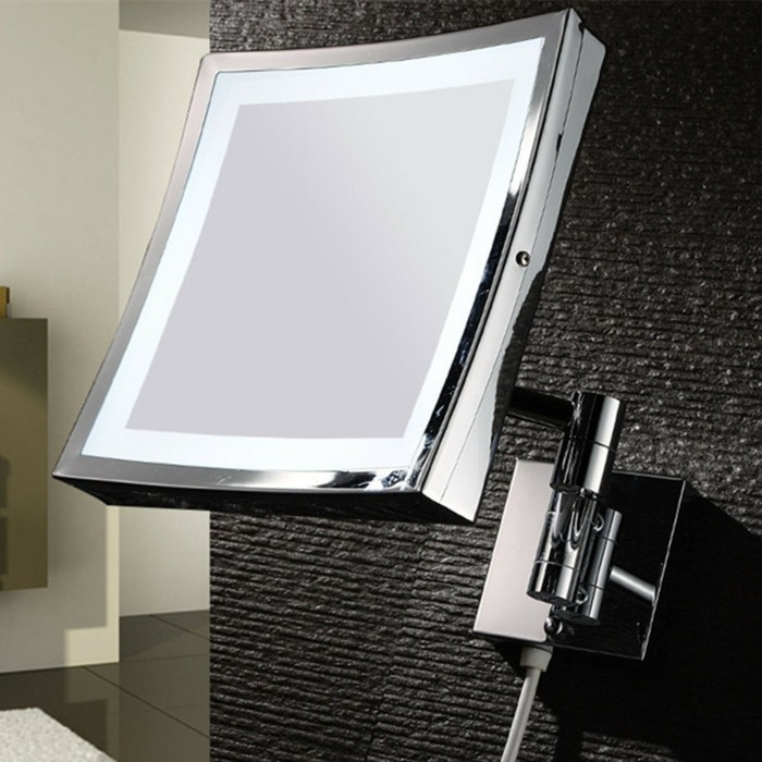 design-miroir-éclairant-salle-de-bain-miroir-leroy-merlin-mur-gris-dans-la-salle-de-bain-moderne
