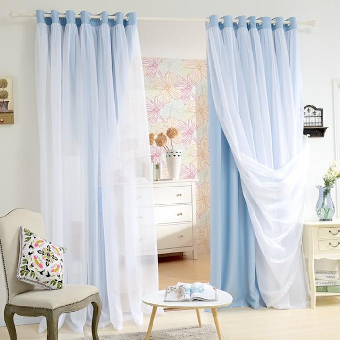 double-rideau-dans-la-salle-de-séjour-cool-bleu