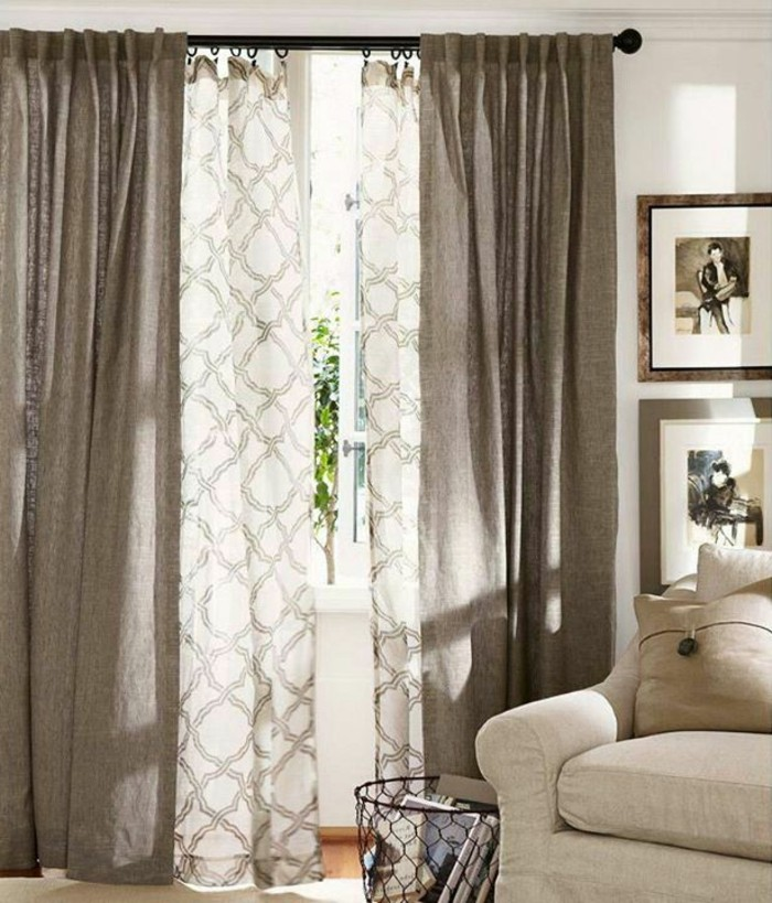 double-rideau-dans-la-salle-de-séjour-cool-idée