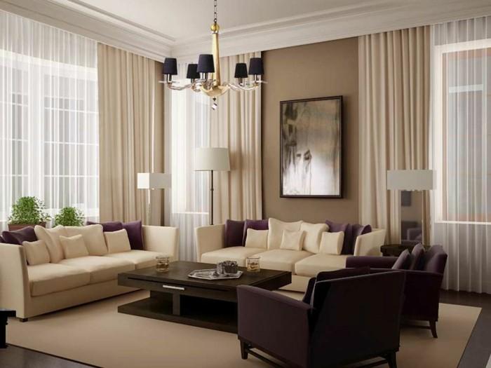 double-rideau-dans-la-salle-de-séjour-cool-joli-rideau-simple