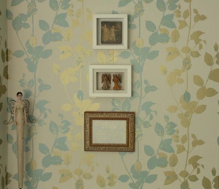 einzigartige-vintage-Tapeten-Wandbilder-Engelfiguren
