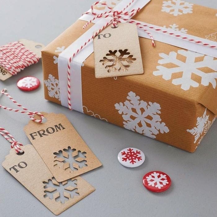 emballage-cadeau-original-belle-idée-diy-papier-à-décorer-papier-cadeau-noel