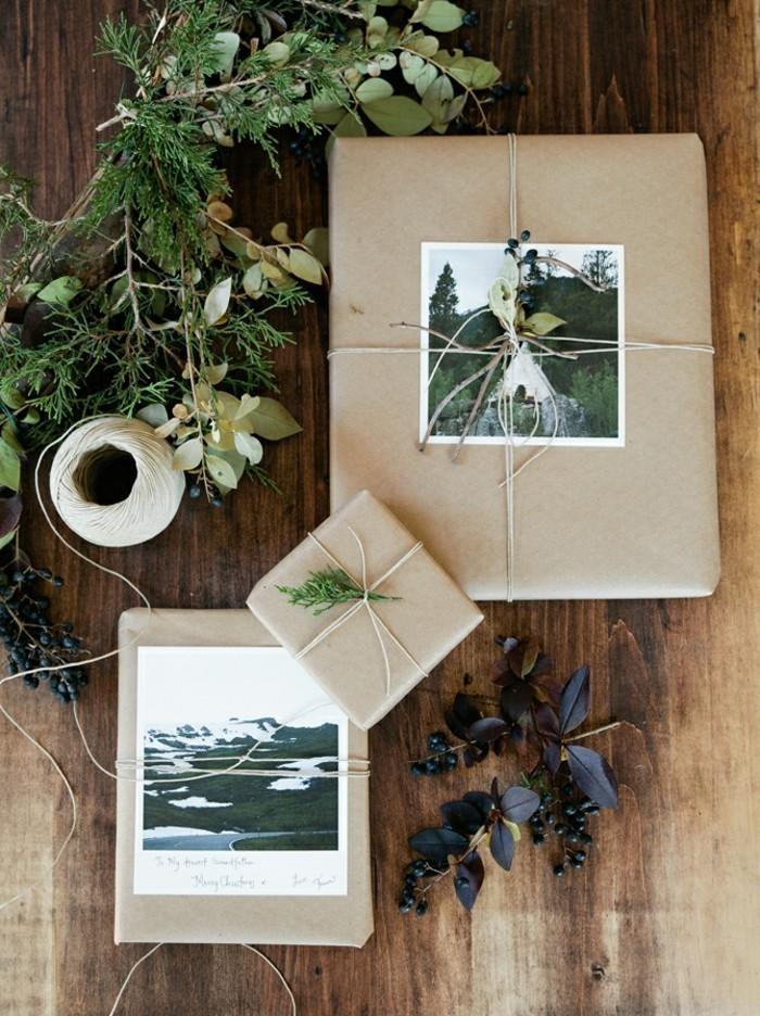 emballage-cadeau-original-belle-idée-diy-papier-à-décorer-papier-cadeaux-original-personnalisé-avec-photos