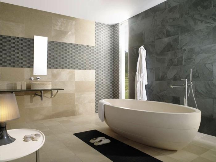 La baignoire ovale les meilleurs id es pour votre salle for Baignoire contemporaine design