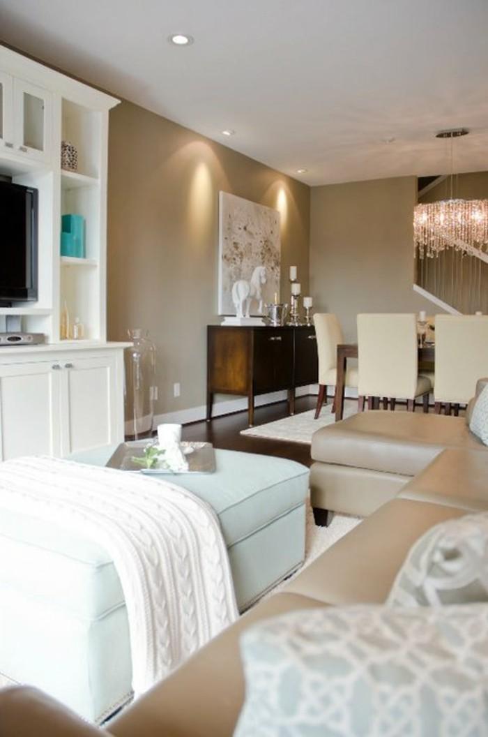 Couleur chambre cosy id es de d coration et de mobilier - Couleur taupe chambre ...