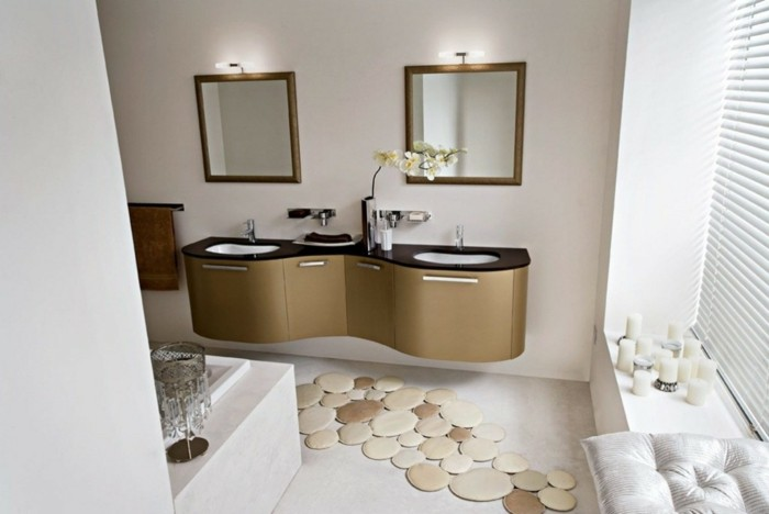 Cool id es pour le tapis de salle de bain original for 9x5 bathroom ideas