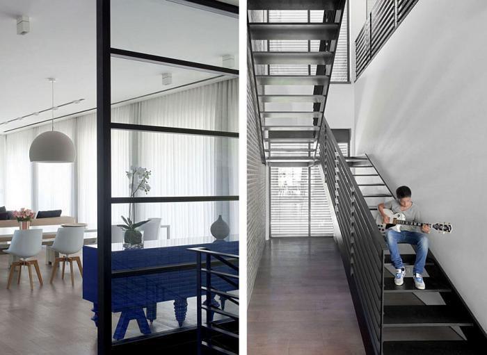 escalier-métallique-beau-escalier-d'acier-demi-tournant