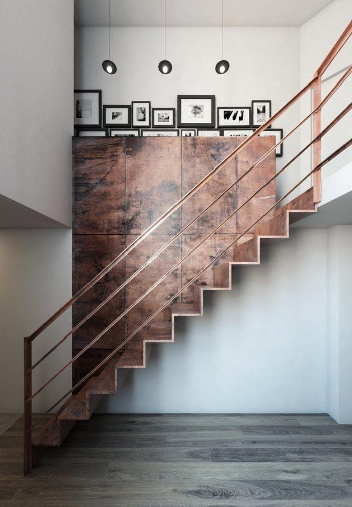 escalier-métallique-bronze-design-super-décoratif