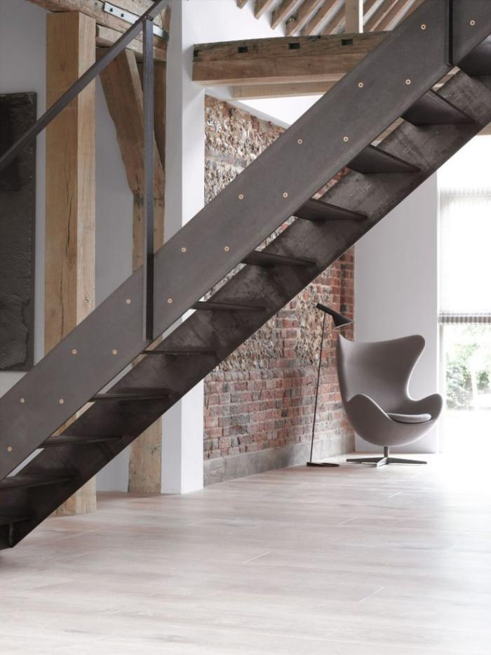 Les beaux designs d 39 escalier m tallique - Escalier metallique industriel ...