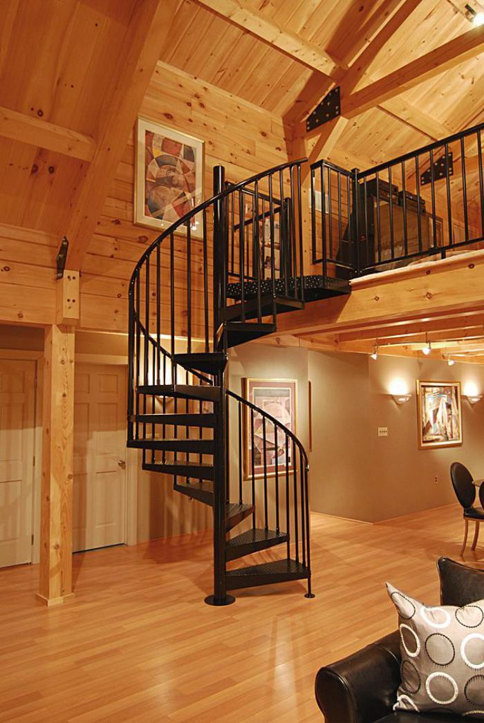 Les beaux designs d 39 escalier m tallique for Type d escalier interieur