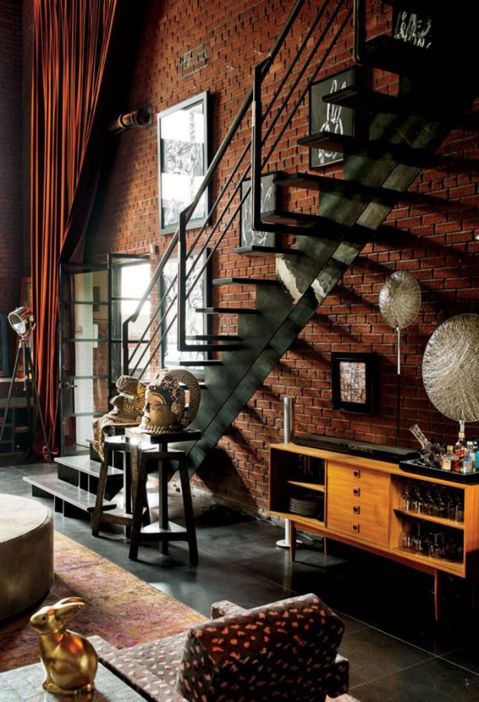 escalier-métallique-escalier-intérieur-en-métal
