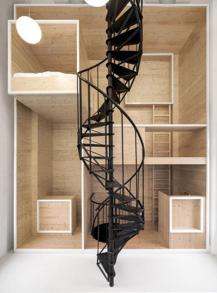 escalier-métallique-escalier-spiral-en-métal