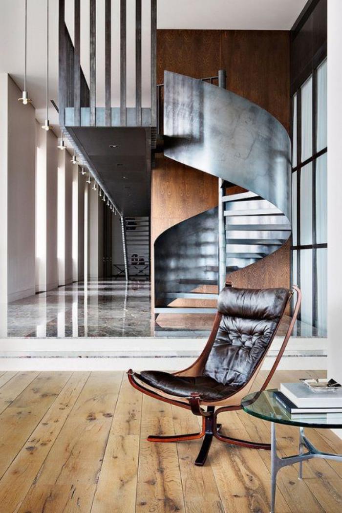escalier-métallique-escalier-unique-en-acier-escalier-hélicoidal