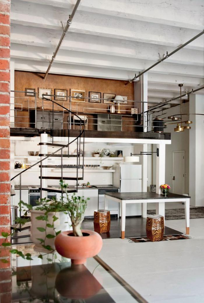 Les beaux designs d 39 escalier m tallique for Design economico