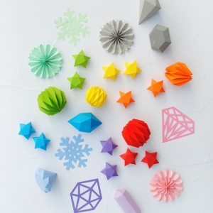 Etoile de Noel en papier - 80 idées qui vont vous charmer!