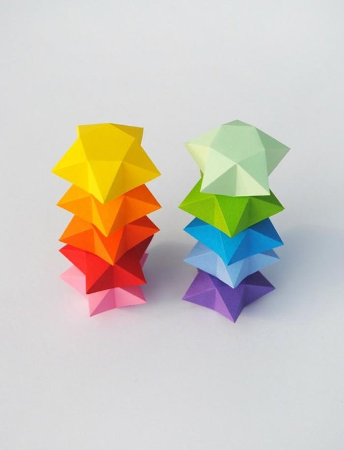 etoile-de-noel-en-papier-deco-noel-a-faire-soi-meme-colorées-étoiles