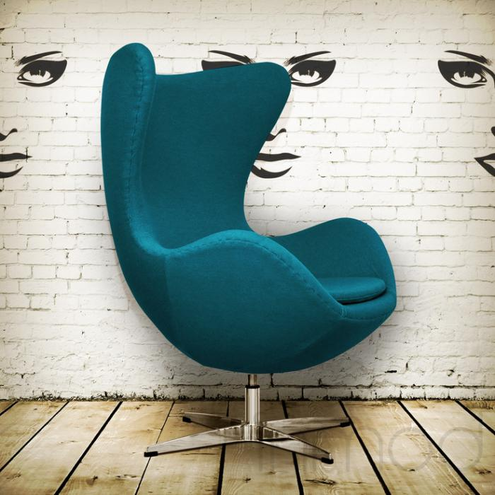 Le fauteuil oeuf un meuble cocoon