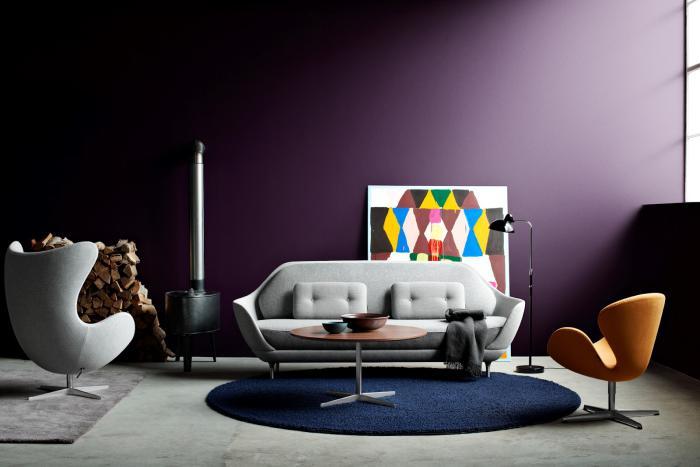 Le fauteuil oeuf un meuble cocoon ind modable - Fauteuil original salon ...